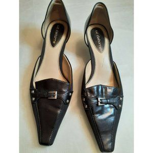 Liz Claiborne womens shoes size 9 1/2 black Flex